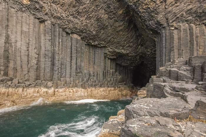 UK17 302 Fingal'S Cave, Staffa, Scotland