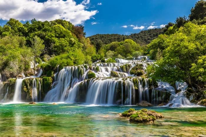 Skradinski Buk Waterfall In Krka National Park, Croatia Shutterstock 395232985