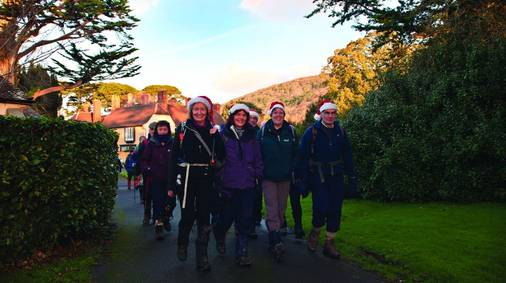 7-Night Exmoor Christmas & New Year Guided Walking Holiday