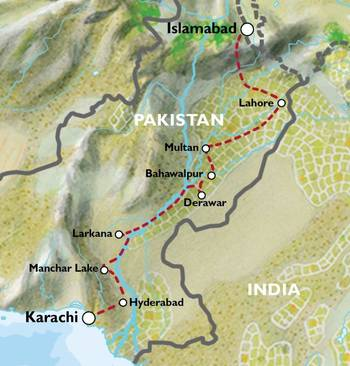 KARACHI to ISLAMABAD (17 days) Domes & Deserts of the Indus