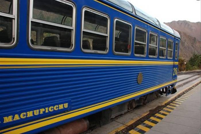 The train from Machu Picchu to Cusco (Thomas Mills)