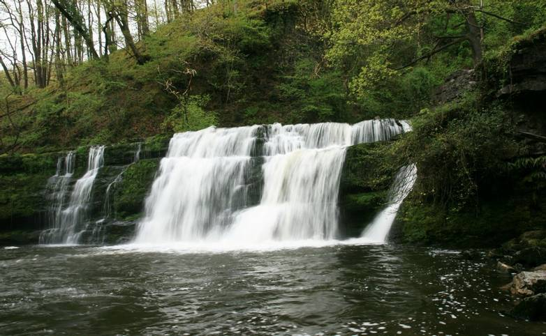 Sgwd y Pannwr Waterfall - four waterfalls walk.JPG