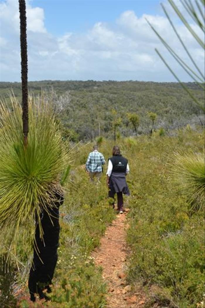 Walking near Cape Naturaliste