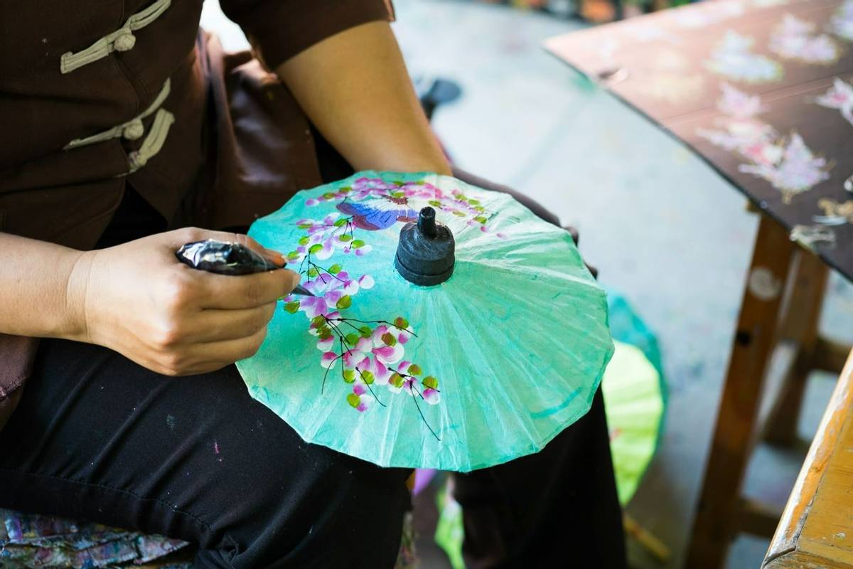 Thailand - Umbrella Painting, Chiang Mai - AdobeStock_70084015.jpeg