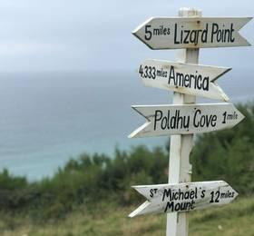 Mullion Cove, Kynance Cove, and the Lizard