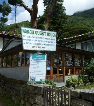 Monjo Guesthouse (2,610m)