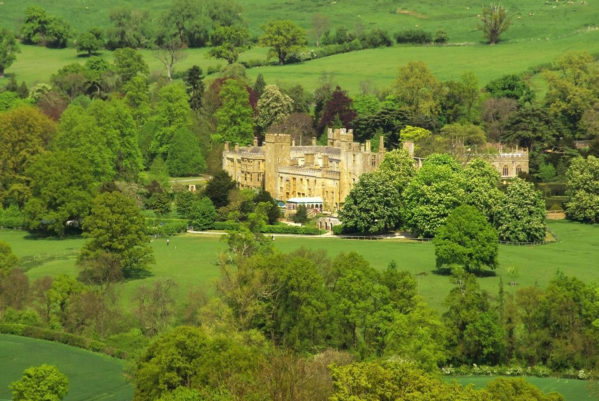 winchcombe the cotswolds gloucestershire the midlands england sudeley castle