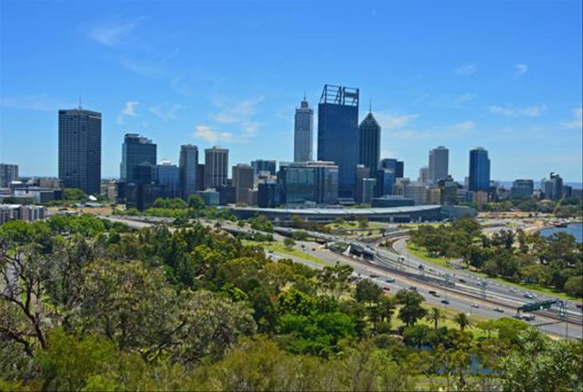 Perth as seen from King's Park