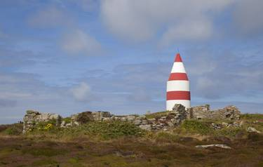 The Daymark, Chapel Down, St Martin's, Isles of Scilly, England