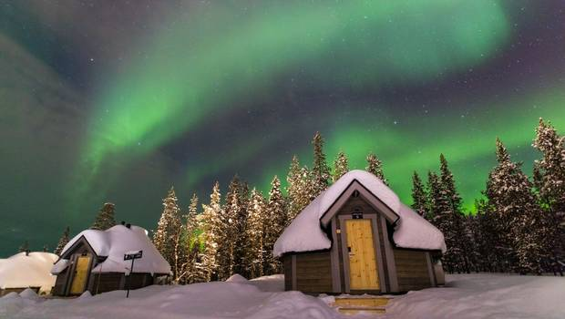 Saariselkä - Aurora Cabins and Finding Father Christmas