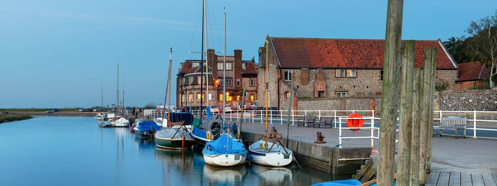 The Quay at Blakeney in Norfolk