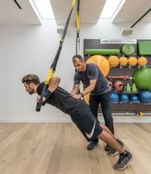 Strength training at Luxury Algarve Bootcamp