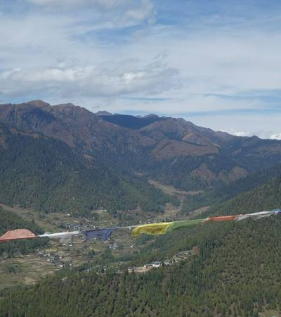 View of Haa valley