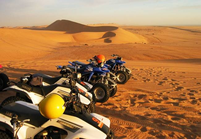 Quad Biking Swakopmund, Namibia - Travel Insurance