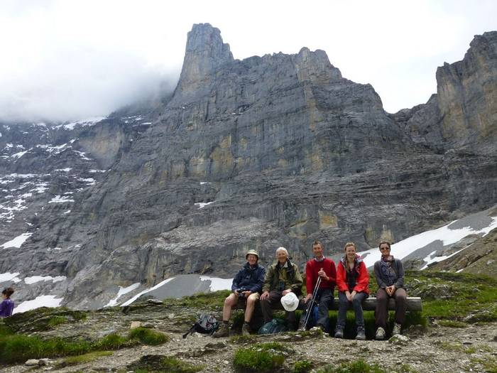 On the Eiger trail