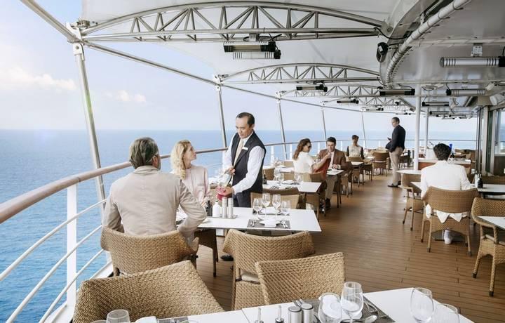 La Terrazza, restaurant, Silver Muse