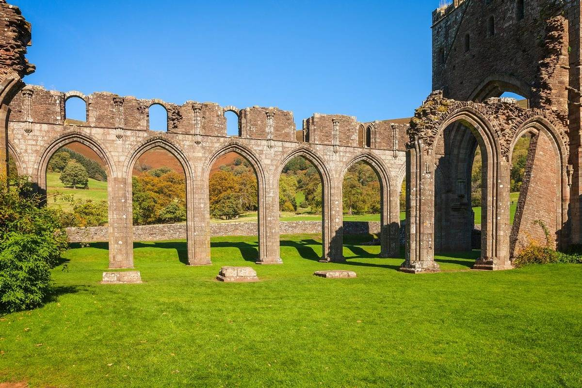 Remains of Nave from the cloister