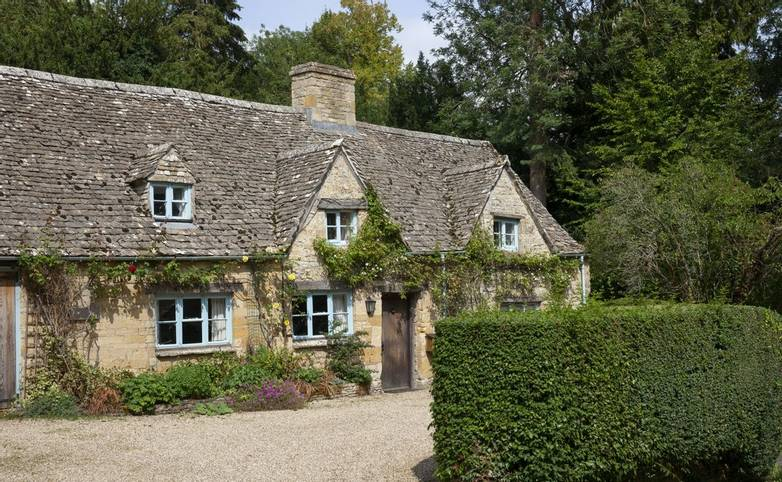 Temple Guiting village, Cotswolds, Gloucestershire, England