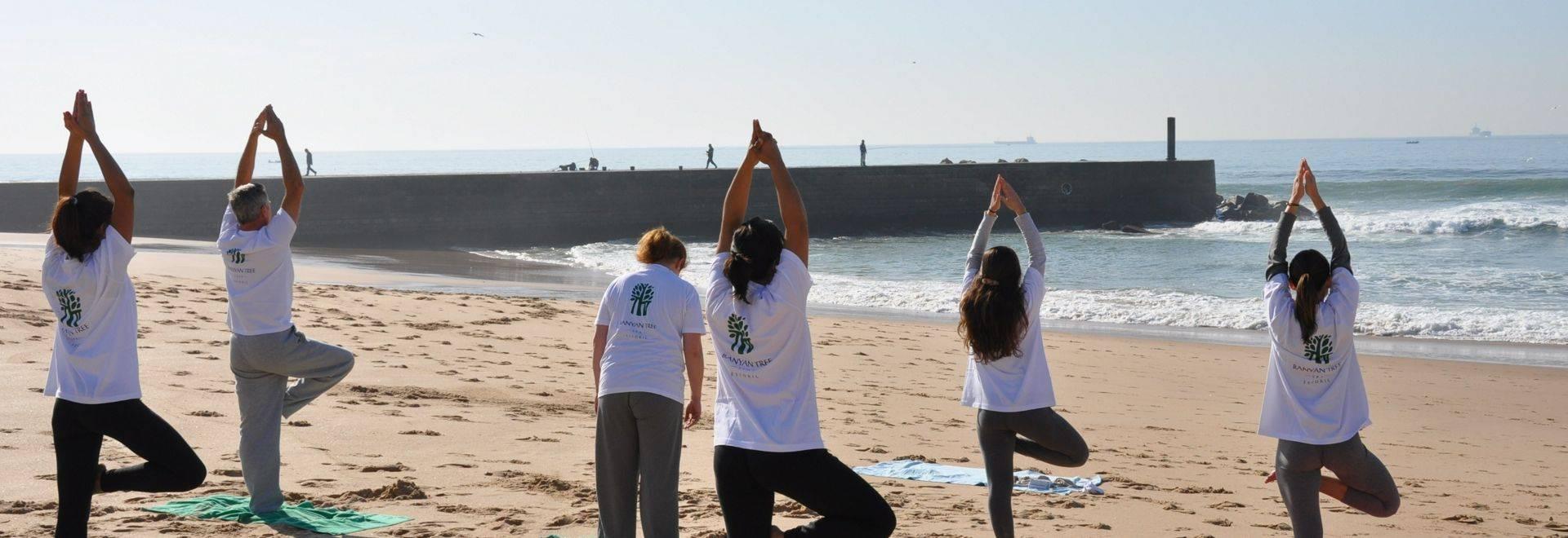 Palacio Estoril Yoga Class
