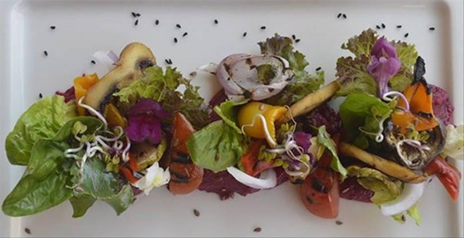 Grilled Organic Vegetable Salad