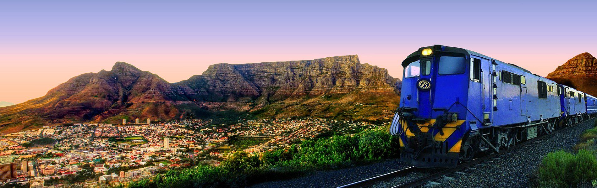 Discover South Africa's Blue Train