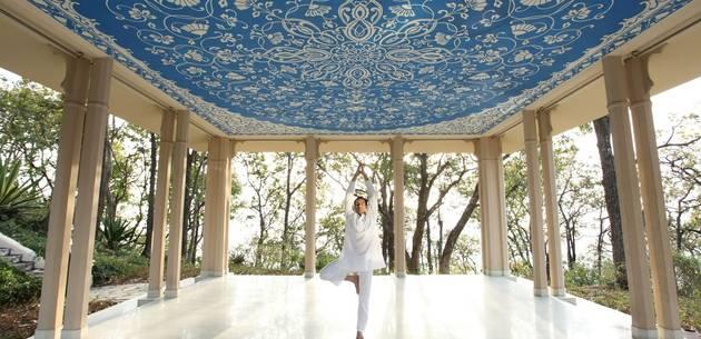 Yoga  at Ananda in the Himalayas