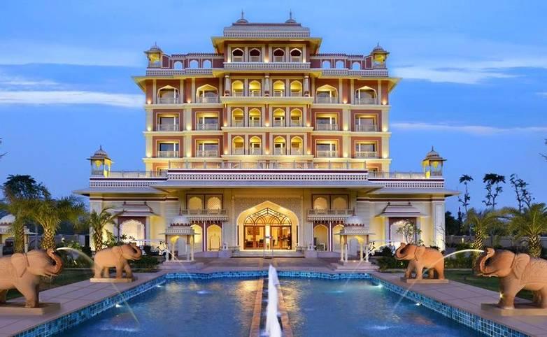 Rajasthan - Indana Palace, Jaipur - Frontage.jpg