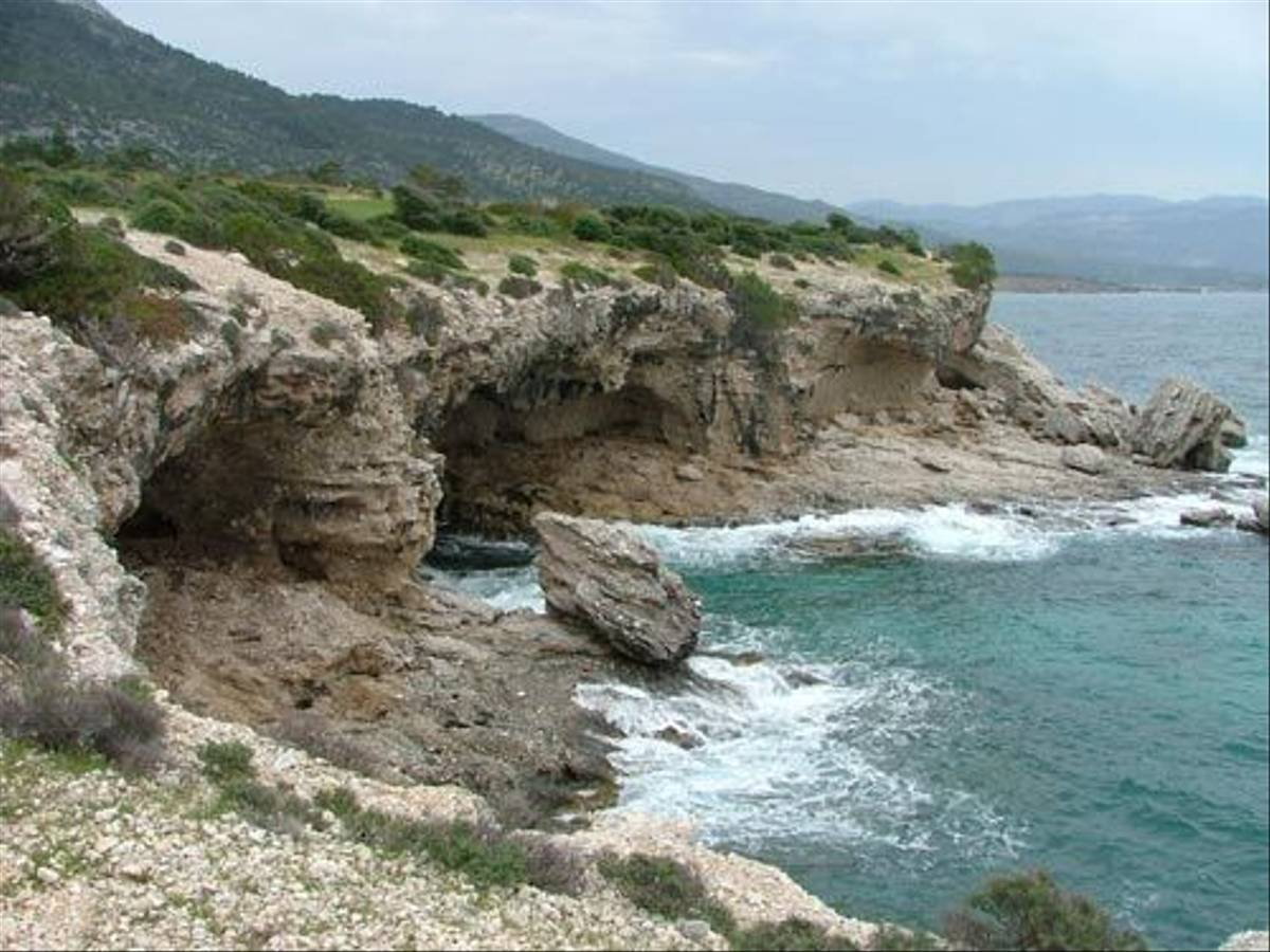 Samos coast (Tony Albrehart)
