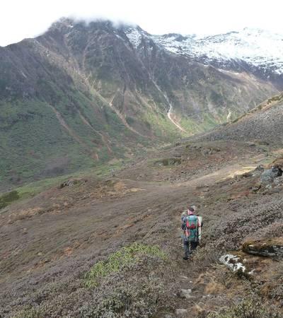 Trail to Kalo Pokhari
