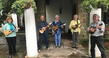 Guests on a HF Holidays Ukulele music making holidays