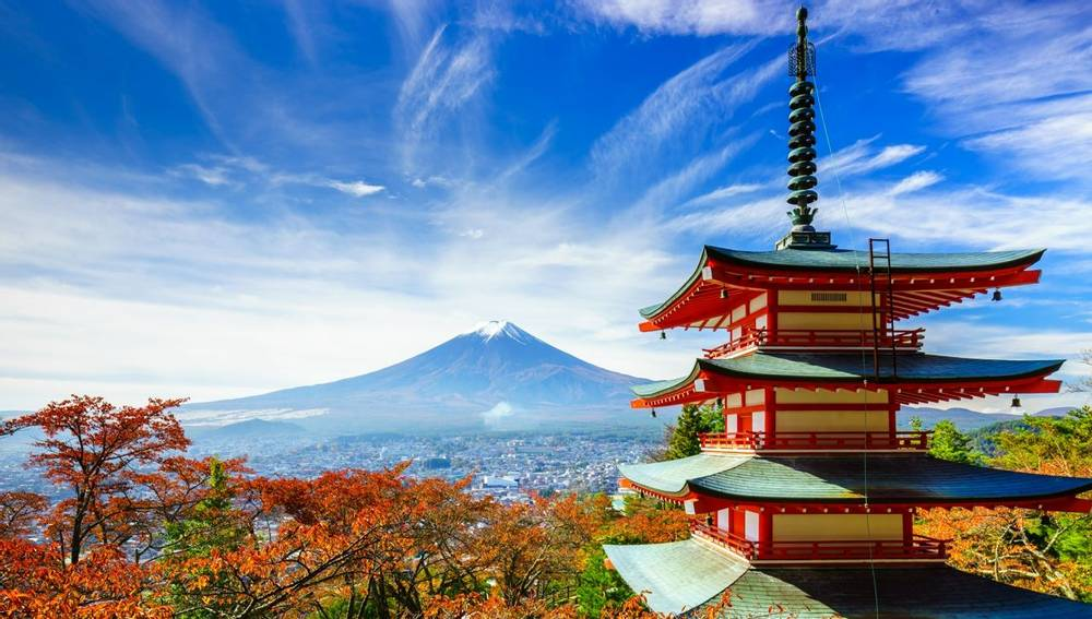Japan guided walking holidays