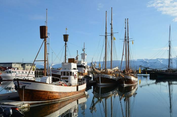 Husavik Harbour by D Phillips