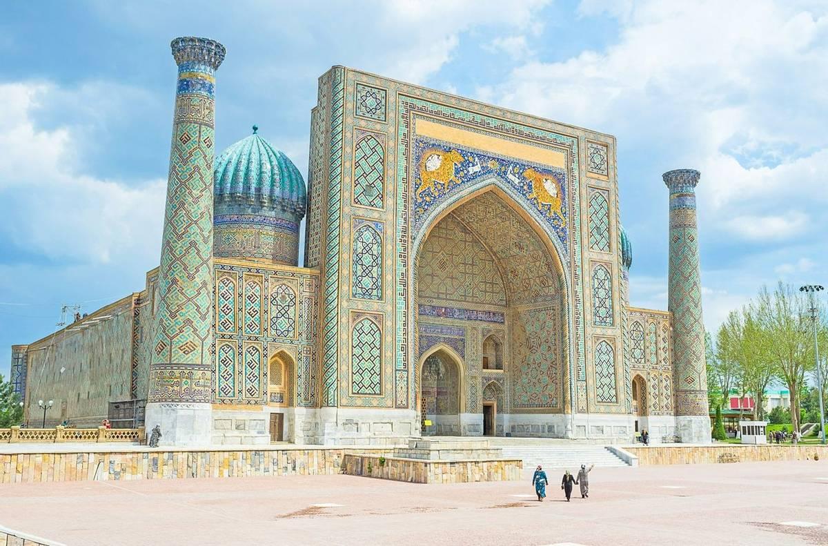 The Registan Square, Uzbekistan  Shutterstock 322267961