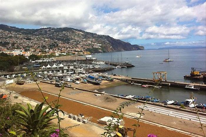 Funchal Harbour (Catherine Strong)