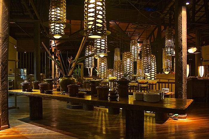 Dinner - Borneo Rainforest Lodge (Dani Free)
