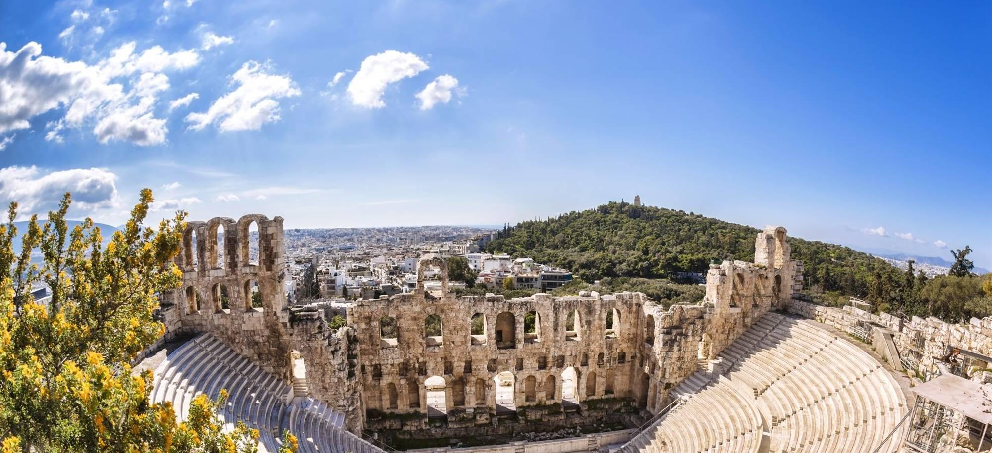 12 Day   Athens (Piraeus), Amphitheater Of Acropolis  Itinerary Desktop