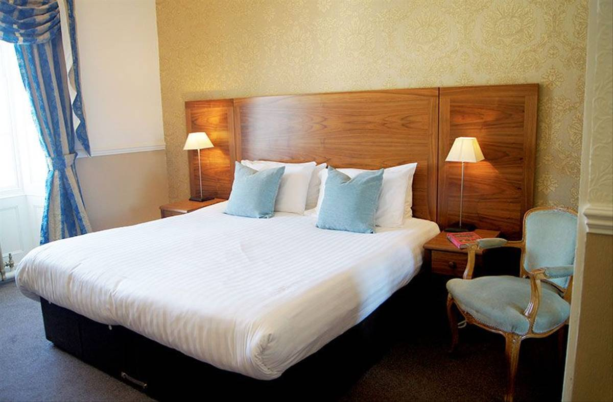 Anglesey - Wales - Guided Trail - Bulkeley Hotel bedroom.jpg