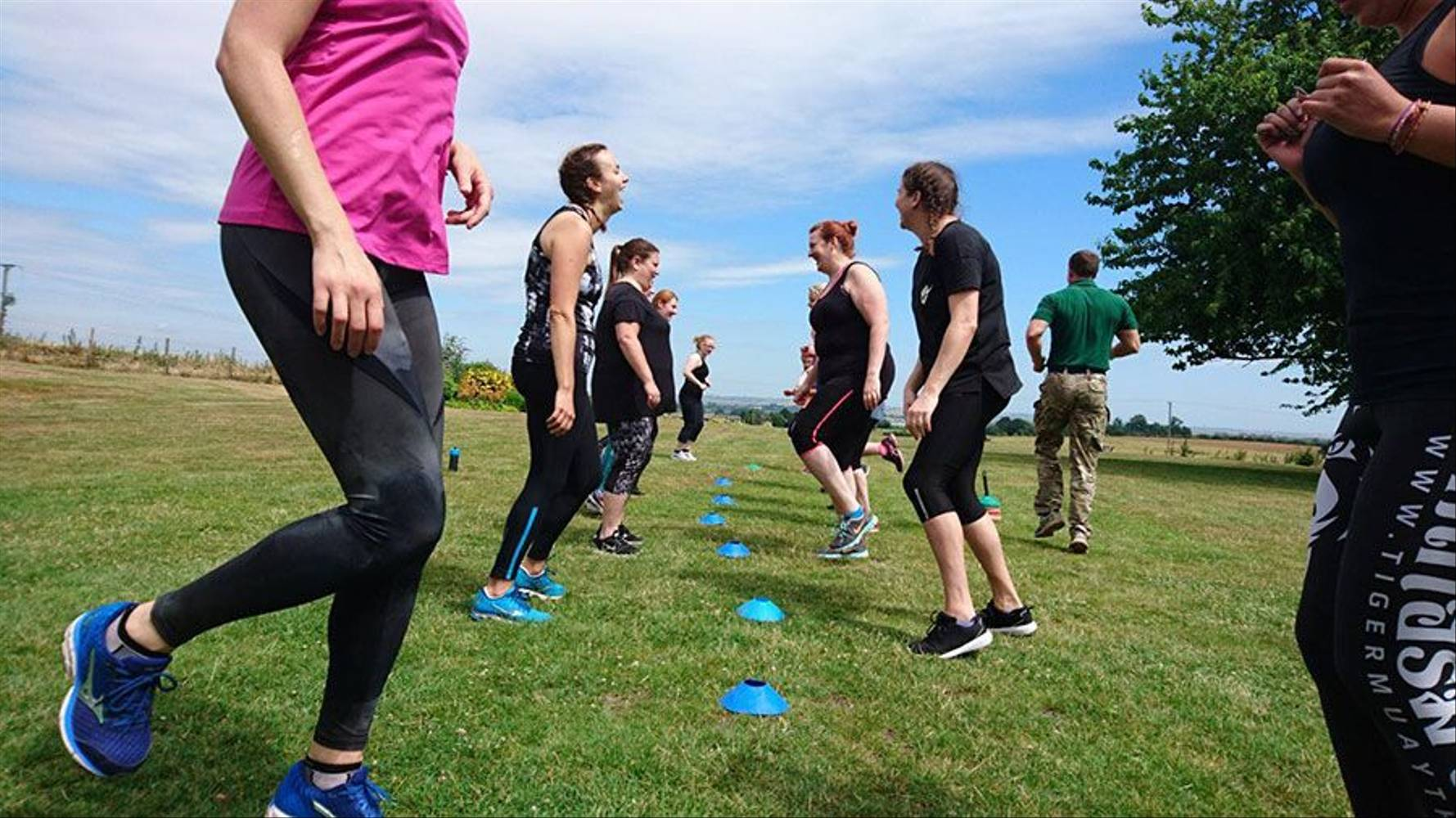 Fitness bootcamp at GI Jane