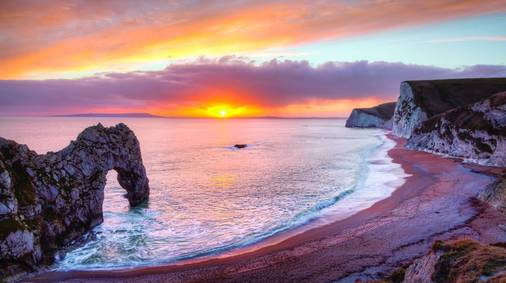 7-Night Dorset Coast Guided Walking Holiday