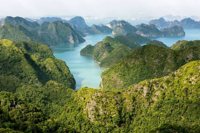 Halong Bay, Vietnam Shutterstock 263738060