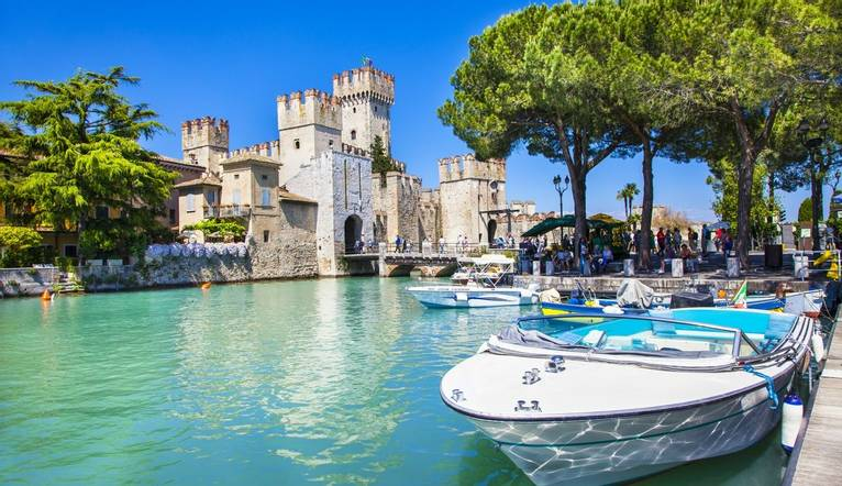 Shutterstock 199151720 Scenery Of Northen Itlay   Malcesine