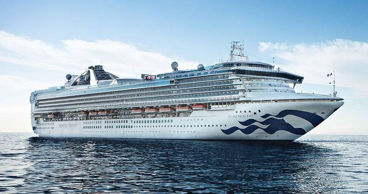 Southampton - Disembark Grand Princess