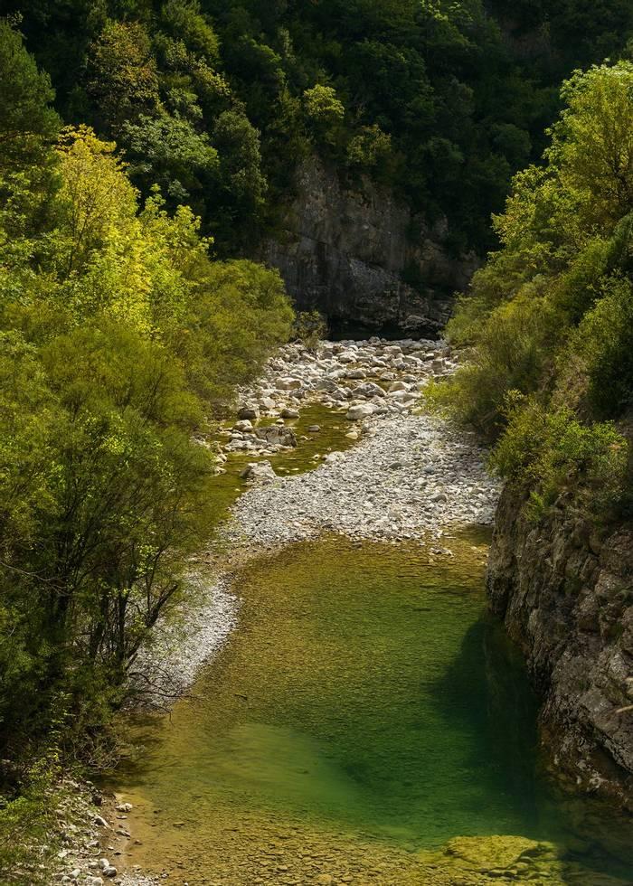 Pyrenean Gorge (Sergio Padura)