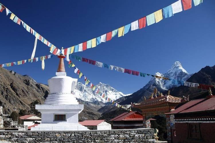 Tengboche monastery on Everest Base Camp trek