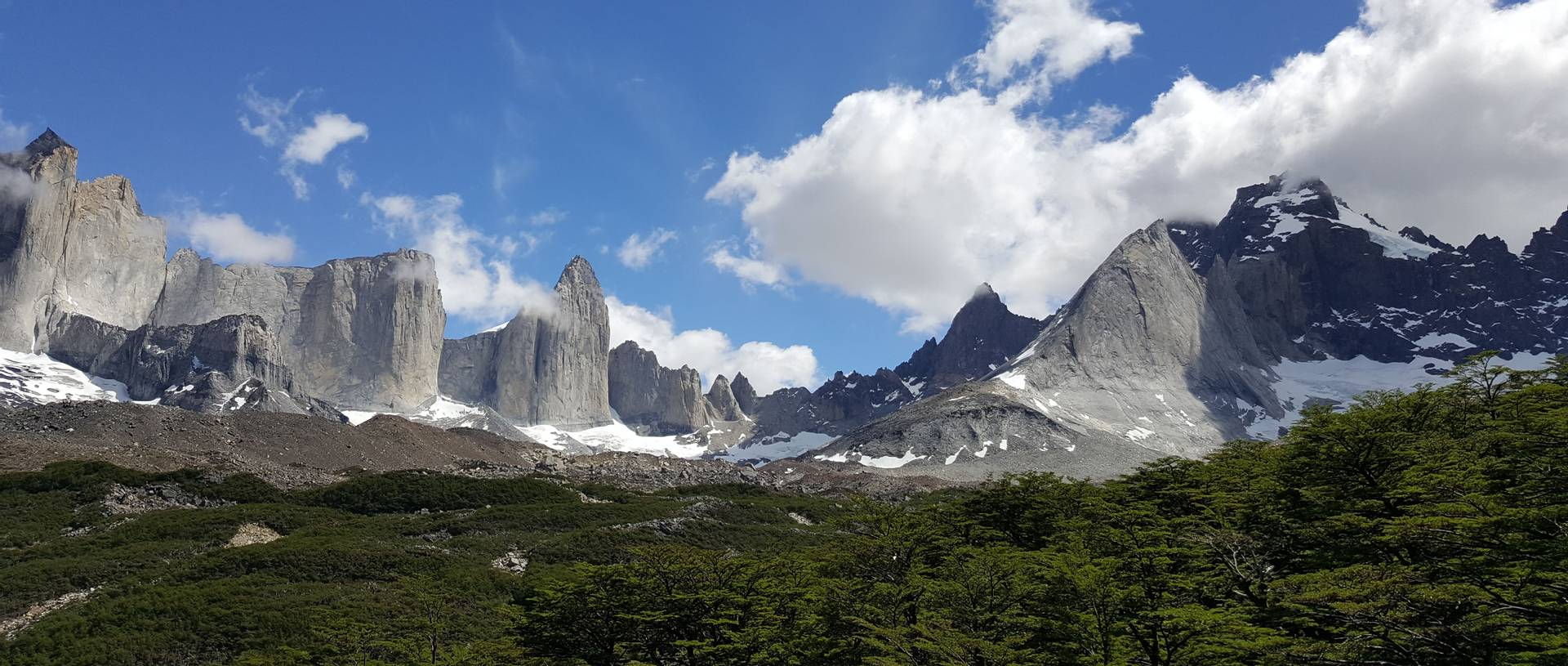 Torres Del Paine National Park. Chile