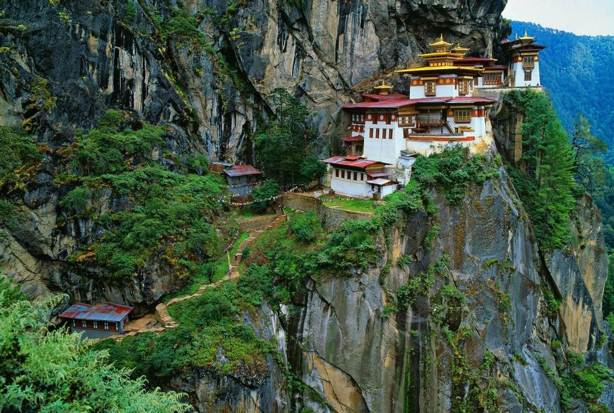 Bhutan (Tiger Nest Monastery)