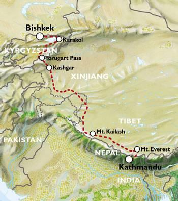 EXPLORATORY - BISHKEK to KATHMANDU (33 days) - Ultimate Asia Overland