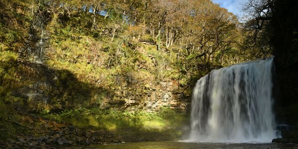 Waterfall Walk, Brecon Beacons