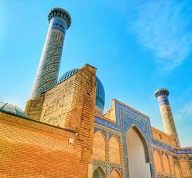 In Samarkand, train to Tashkent