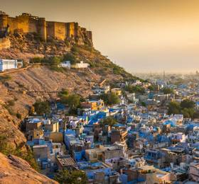 Mehrangarh Fort visit and explore the 'Blue City'